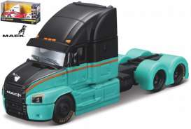 Mack  - green/black - 1:64 - Maisto - 12389-18829gn - mai12389-18829gn | The Diecast Company
