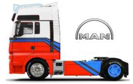 MAN  - white/red/blue - 1:64 - Maisto - 12389-18830w - mai12389-18830w | The Diecast Company