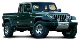 Jeep  - Pick up 2019 black-green - 1:64 - Maisto - 15004-07 - mai15004-07 | The Diecast Company