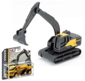Volvo  - EC220E black/yellow - 1:64 - Maisto - 15394-01 - mai15394-01 | The Diecast Company