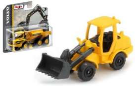Volvo  - L250H Wheel Loader black/yellow - 1:64 - Maisto - 15394-03 - mai15394-03 | The Diecast Company