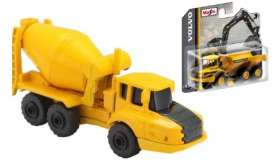 Volvo  - A25G black/yellow - 1:64 - Maisto - 15394-06 - mai15394-06 | The Diecast Company