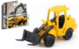 Volvo  - L250H Wheel Loader black/yellow - 1:64 - Maisto - 15394-07 - mai15394-07 | The Diecast Company