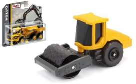 Volvo  - SD160B Soil Compactor black/yellow - 1:64 - Maisto - 15394-08 - mai15394-08 | The Diecast Company
