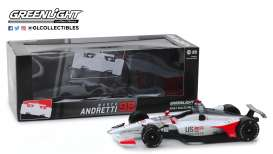 Honda  - 2019 white/red/black - 1:18 - GreenLight - 11059 - gl11059 | The Diecast Company