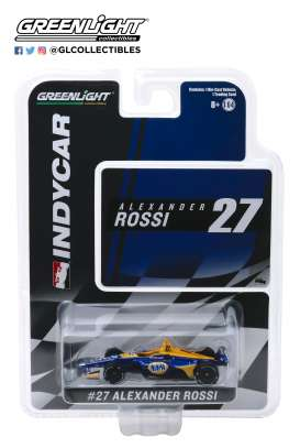 Honda  - 2019 yellow/blue - 1:64 - GreenLight - 10842 - gl10842 | The Diecast Company