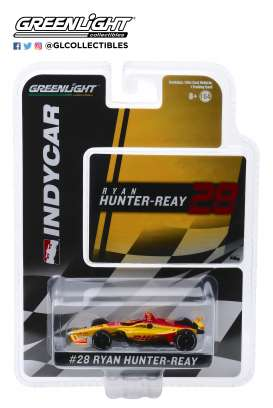 Honda  - 2019 yellow/red - 1:64 - GreenLight - 10841 - gl10841 | The Diecast Company