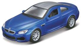 BMW  - M6 blue - 1:43 - Maisto - 21001-16942 - mai21001-16942 | The Diecast Company