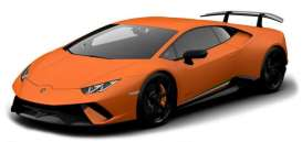 Lamborghini  - Huracan orange - 1:18 - Maisto - 31391 - mai31391o | The Diecast Company