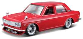 Datsun  - 510 1971 red - 1:24 - Maisto - 39308 - mai39308 | The Diecast Company