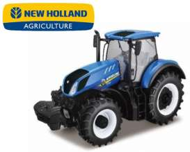 New Holland  - T7.315 blue - 1:50 - Bburago - 31612 - bura31612 | The Diecast Company