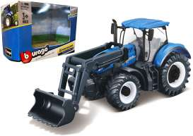 New Holland  - T7.315 blue - 1:32 - Bburago - 31632 - bura31632 | The Diecast Company