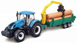 New Holland  - T7.315 blue - 1:32 - Bburago - 31655 - bura31655 | The Diecast Company