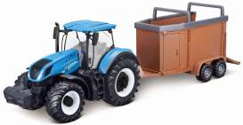 New Holland  - T7.315 blue - 1:50 - Bburago - 31656 - bura31656 | The Diecast Company