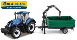 New Holland  - T7.315 blue - 1:32 - Bburago - 36157 - bura36157 | The Diecast Company