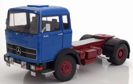 Mercedes Benz  - LPS 1632 1969 blue/red - 1:18 - Road Kings - 180022 - rk180022 | The Diecast Company