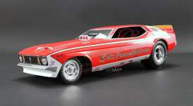 Ford  - Mustang Dragster red/gold - 1:18 - Acme Diecast - 1800700 - acme1800700 | The Diecast Company