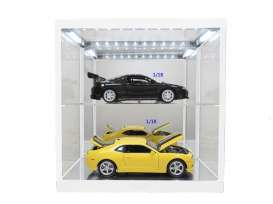Accessoires diorama - 2014 white - 1:18 - Triple9 Collection - 187820w - T9-187820w | The Diecast Company