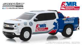 Chevrolet  - Silverado 2019 white/blue - 1:64 - GreenLight - 30036 - gl30036 | The Diecast Company