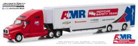 Kenworth  - T2000 2019 red/white - 1:64 - GreenLight - 30038 - gl30038 | The Diecast Company