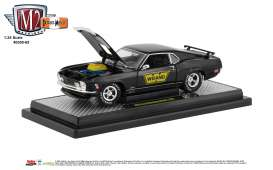 Ford  - Mustang 1970 black/gold - 1:24 - M2 Machines - 40300-65B - M2-40300-65B | The Diecast Company