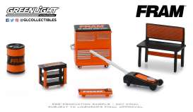 diorama Accessoires - orange/black - 1:64 - GreenLight - 13173 - gl13173 | The Diecast Company