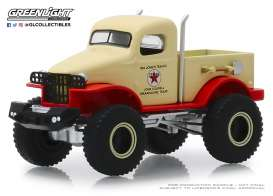 Militaire  - 4x4 1941 beige/red - 1:64 - GreenLight - 41080B - gl41080B | The Diecast Company