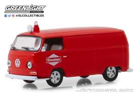 Volkswagen  - Type 2 Panel Van 1969 red - 1:64 - GreenLight - 41080D - gl41080D | The Diecast Company
