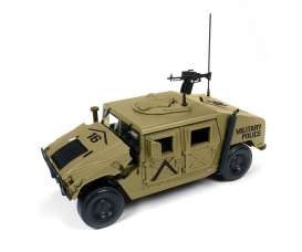 Humvee  - sand - 1:18 - Auto World - ML003B - AWML003B | The Diecast Company