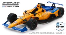 McLaren  - 2019 orange/blue - 1:18 - GreenLight - 11061 - gl11061 | The Diecast Company