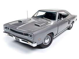 Dodge  - Coronet R/T 1969 silver - 1:18 - Auto World - amm1141 - AMM1141 | The Diecast Company