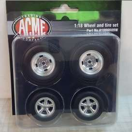 Rims & tires Wheels & tires - 1:18 - Acme Diecast - 1800909W - acme1800909W | The Diecast Company