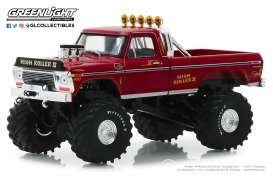 Ford  - F-250 1979 red - 1:43 - GreenLight - 86162 - gl86162 | The Diecast Company