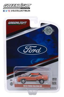Ford  - Falcon XB Custom 1973 orange/black - 1:64 - GreenLight - 30041 - gl30041 | The Diecast Company