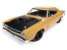 Dodge  - Super Bee  1969 butterscotch - 1:18 - Auto World - AMM1173 - AMM1173 | The Diecast Company