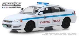 Chevrolet  - Impala 2010 white/blue - 1:43 - GreenLight - 86166 - gl86166 | The Diecast Company