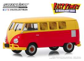 Volkswagen  - Type 2 1967 red/yellow - 1:43 - GreenLight - 86554 - gl86554 | The Diecast Company