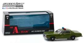 Plymouth  - Fury 1977 army - 1:43 - GreenLight - 86556 - gl86556 | The Diecast Company