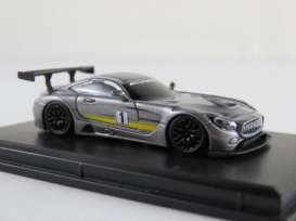 Mercedes Benz  - AMG GT3 2017 grey - 1:87 - FrontiArt - HO-21 - FHO-21 | The Diecast Company