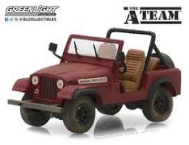 Jeep  - CJ-7 red - 1:64 - GreenLight - 44840C - gl44840C | The Diecast Company