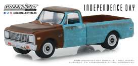 Chevrolet  - C-10 1971 brown/blue - 1:64 - GreenLight - 44840D - gl44840D | The Diecast Company