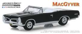 Pontiac  - GTO Convertible 1967 black - 1:64 - GreenLight - 44840F - gl44840F | The Diecast Company