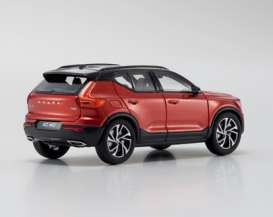 Volvo  - VC40 red - 1:43 - Kyosho - 03673R - kyo3673R | The Diecast Company