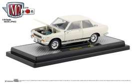 Datsun  - 510 1970 white - 1:24 - M2 Machines - 40300jpn02B - M2-40300jpn02B | The Diecast Company
