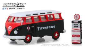 Volkswagen  - 1964 black/red/white - 1:64 - GreenLight - 97060A - gl97060A | The Diecast Company