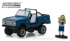 Ford  - 1967 blue - 1:64 - GreenLight - 97060B - gl97060B | The Diecast Company