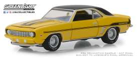 Chevrolet  - Yenko Camaro 1969 yellow - 1:64 - GreenLight - 37170C - gl37170C | The Diecast Company