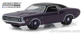 Dodge  - HEMI Challenger 1971 purple - 1:64 - GreenLight - 37170D - gl37170D | The Diecast Company