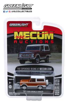 Ford  - Bronco 1977 white - 1:64 - GreenLight - 37170E - gl37170E | The Diecast Company