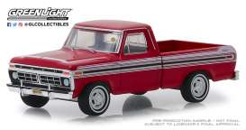 Ford  - F-100 1977 red - 1:64 - GreenLight - 37170F - gl37170F | The Diecast Company